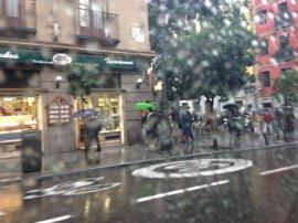 El Ayuntamiento reforzará este martes sus medidas de gestión del tráfico por la lluvia