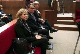 El juicio a Artur Mas, Joana Ortega e Irene Rigau por el 9N, en imágenes