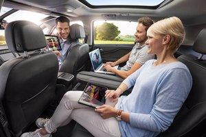 Interior y conectividad Opel Zafira