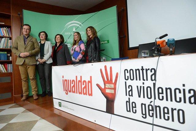 Presentación del servicio para hijos de víctimas mortales de violencia machista