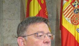 Puig responderá en las Corts a preguntas sobre el temporal, turismo, inversión en ferrocarril y el acord del Botànic