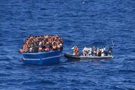 Los militares españoles rescatan a casi 500 personas en el Mediterráneo y ya van más de 8.500 en año y medio