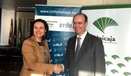 Unicaja renueva su acuerdo con el Ayuntamiento de Málaga para favorecer el autoempleo a través de microcréditos