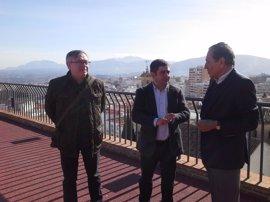 Recibimiento a Ricardo Djaen, descendiente de judíos expulsados de Jaén en la Edad Media