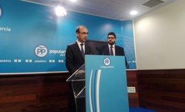 El PP regional prevé que el número de parados en la Comunidad de Murcia baje de 100.000 en 2018