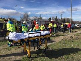 Muere un joven de 19 años, otro queda herido grave y una embarazada sale ilesa tras un accidente de tráfico