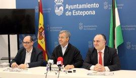 Diez artistas realizarán simultáneamente sus obras dentro del concurso internacional de murales de Estepona