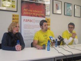 La campaña de Fapac para reducir ratios en Infantil consigue cerca de 10.000 firmas en dos semanas