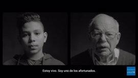 Dos refugiados de distintas generaciones describen su historia de supervivencia en el nuevo vídeo de UNICEF