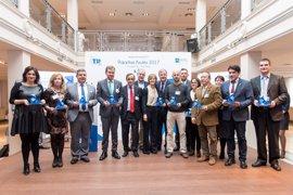 Bilbao recibe el premio 'Pajaritas azules' por su recogida de papel y cartón