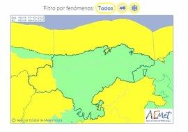 Cantabria estará mañana en riesgo por nieve y fenómenos costeros