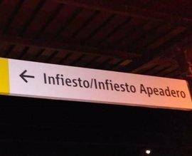 Iniciativa Pol Asturianu acusa a Renfe de no respetar la toponimia oficial en sus nuevos carteles