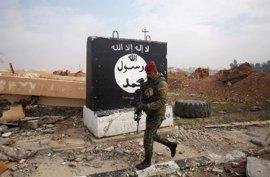 Los cuerpos de los miembros de Estado Islámico, arma psicológica en las calles de Mosul