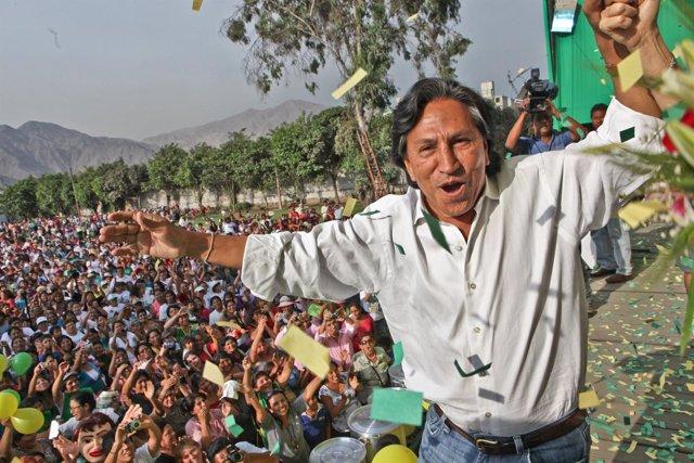 El ex presidente peruano Alejandro Toledo.