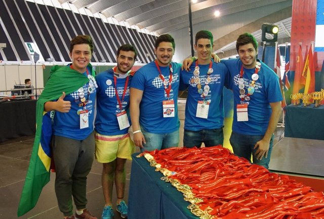 Voluntarios de First Lego League