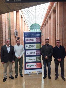 Jurado del Premio a la Excelencia de ENOMAQ 2017 en la Feria de Zaragoza