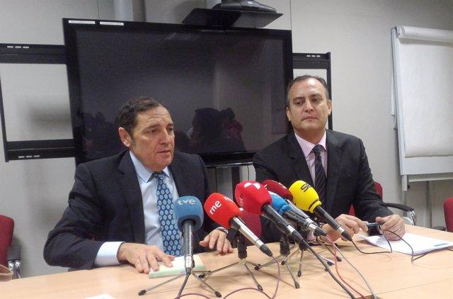 Antonio María Sáez Aguado y Luis Ángel Pérez