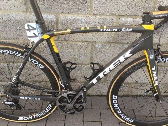 Bici de Fabian Cancellara subastada por 16.100 euros