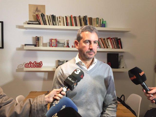 El dtor. De Airbnb en España A.Muñoz