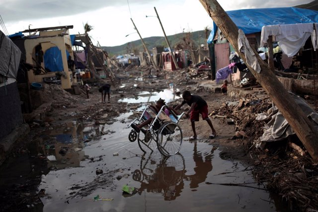 Daños causados por el huracán 'Matthew' en Haití
