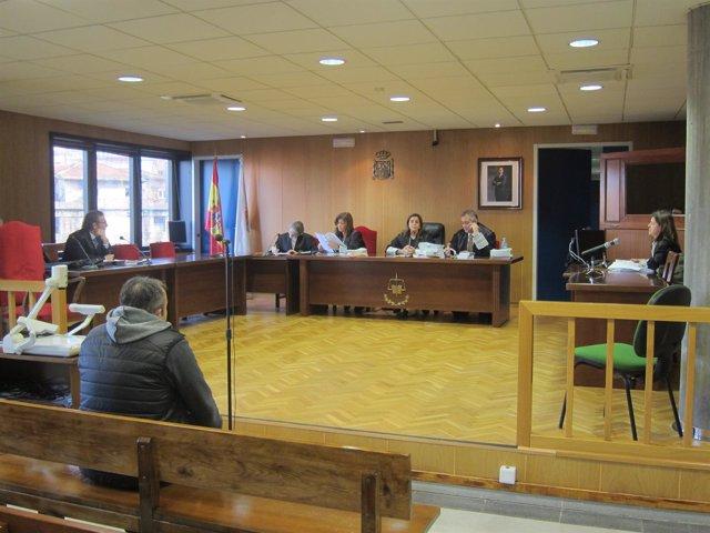 Juicio por tráfico de drogas celebrado en Vigo.