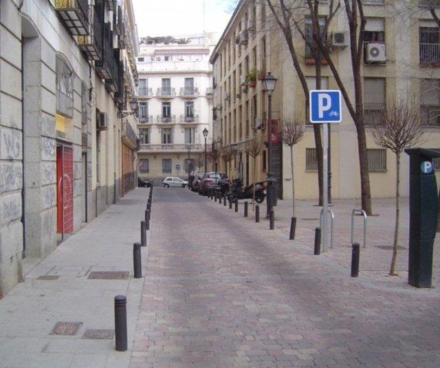 Una Calle De Hortaleza (Madrid)