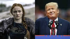 Juego de tronos: Sophie Turner 'trolea' a Donald y Melania Trump en Twitter
