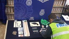 Desarticulan 25 puntos de venta de drogas y arrestan a 46 personas en Málaga capital en enero