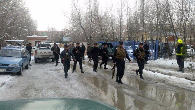 Atentado suicida junto al Tribunal Supremo en Kabul