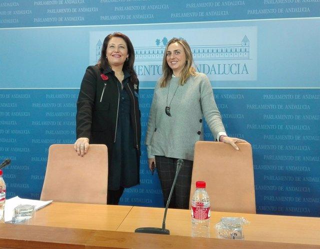 Carmen Crespo, hoy junto a Marifrán Carazo