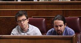 Echenique apoya a Errejón como portavoz parlamentario