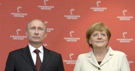 Putin y Merkel urgen a restablecer la tregua en el este de Ucrania