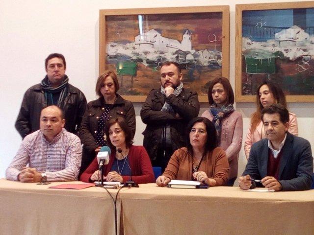 Oposición en Alhaurin el grande málaga presenta demanda judicial Teresa Sanchez