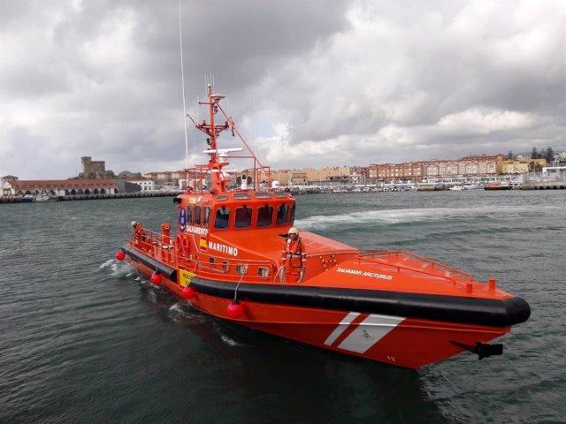 Nueva embarcación de Salvamento Marítimo para Tarifa