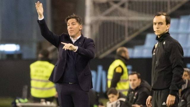 Eduardo Berizzo, entrenador del Celta