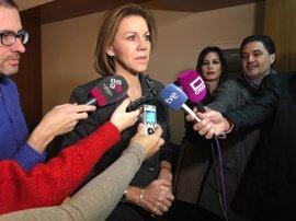 """Cospedal, tras el CIS: """"El PP sigue siendo el favorito de todos los españoles"""""""