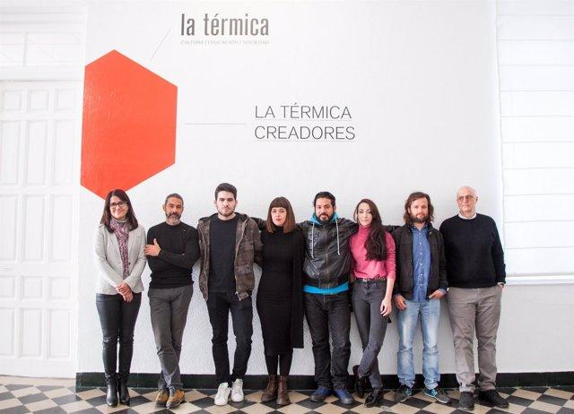 Creadores La Térmica Fundación Unicaja programa residencia artistas