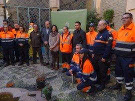 La Junta entrega material para la lucha contra el fuego a Grupos de Pronto Auxilio