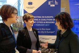 """Tapia expone en Bruselas el caso de Euskadi como """"región pionera en eficiencia y sostenibilidad urbana"""""""