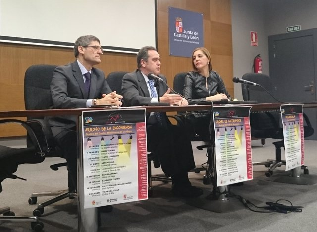 Pablo Trillo, en la reunión de programadores culturales.