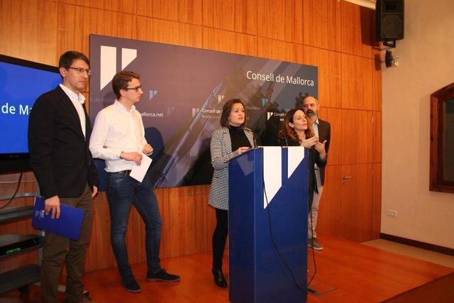 Mercedes Garrido explica el proceso de rescate del túnel de Sóller