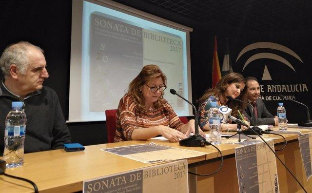 Presentación del VII Ciclo Sonata de Biblioteca.