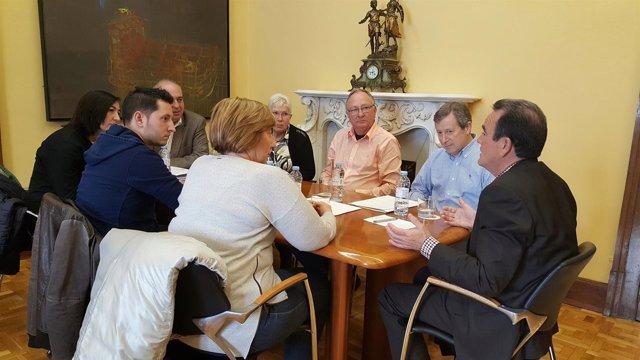 N.P. Sánchez Quero Se Compromete A Abrir En Breve El Parque De El Burgo De Ebro