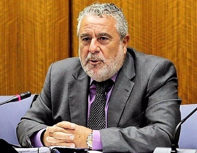 El director de Canal Sur Radio y Televisión, Joaquín Durán
