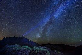 Un mapa de cielo nocturno concluye que el 80% del firmamento andaluz tiene buena calidad