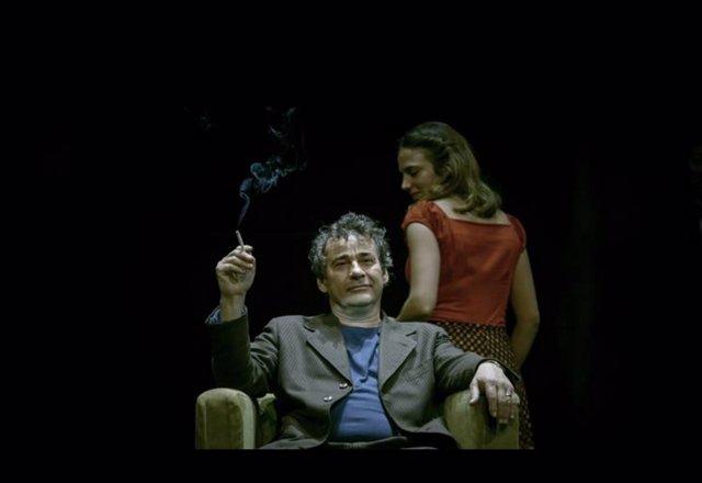 El actor Eduard Fernández en 'Panorama desde el puente'