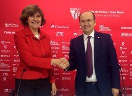 El Sevilla FC se adhiere al Pacto por la Igualdad y el Pluralismo en el Deporte promovido por el CAA