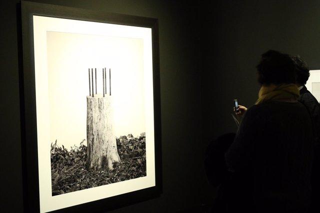 Presentación de la muestra El viajero inmóvil del fotógrafo Chema Madoz