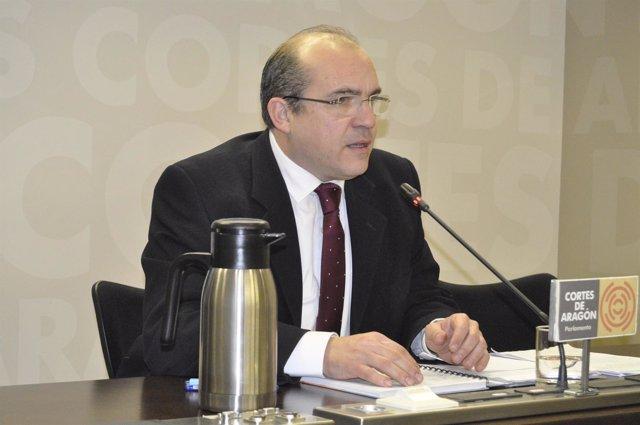 El diputado del PP en las Cortes de Aragón Fernando González