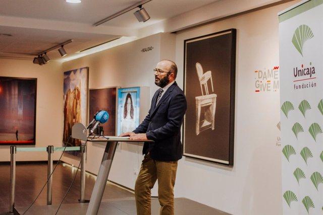 Inauguración de la exposición de arte contemporáneo de la Fundación Unicaja